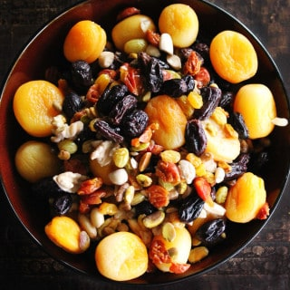 Haft Mewa: Afghan fruit and nut salad