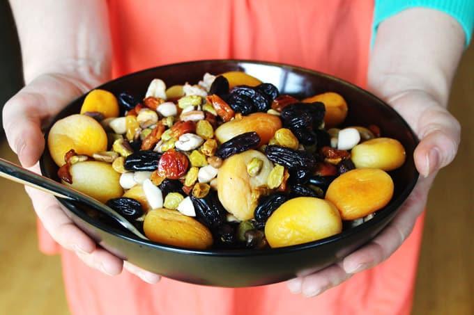 Haft Mewa: Afghan fruit and nut salad