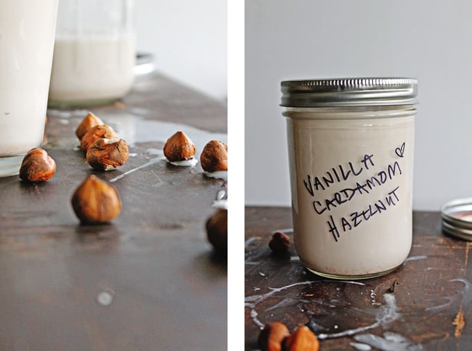 homemade hazelnut milk recipe