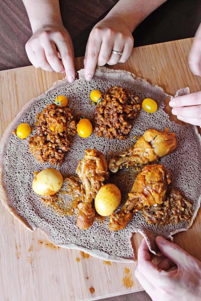 Global Feasts: Ethiopia // Rhubarbarians