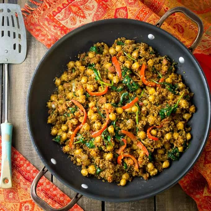 15 KILLER vegetarian chickpea dinner recipes!