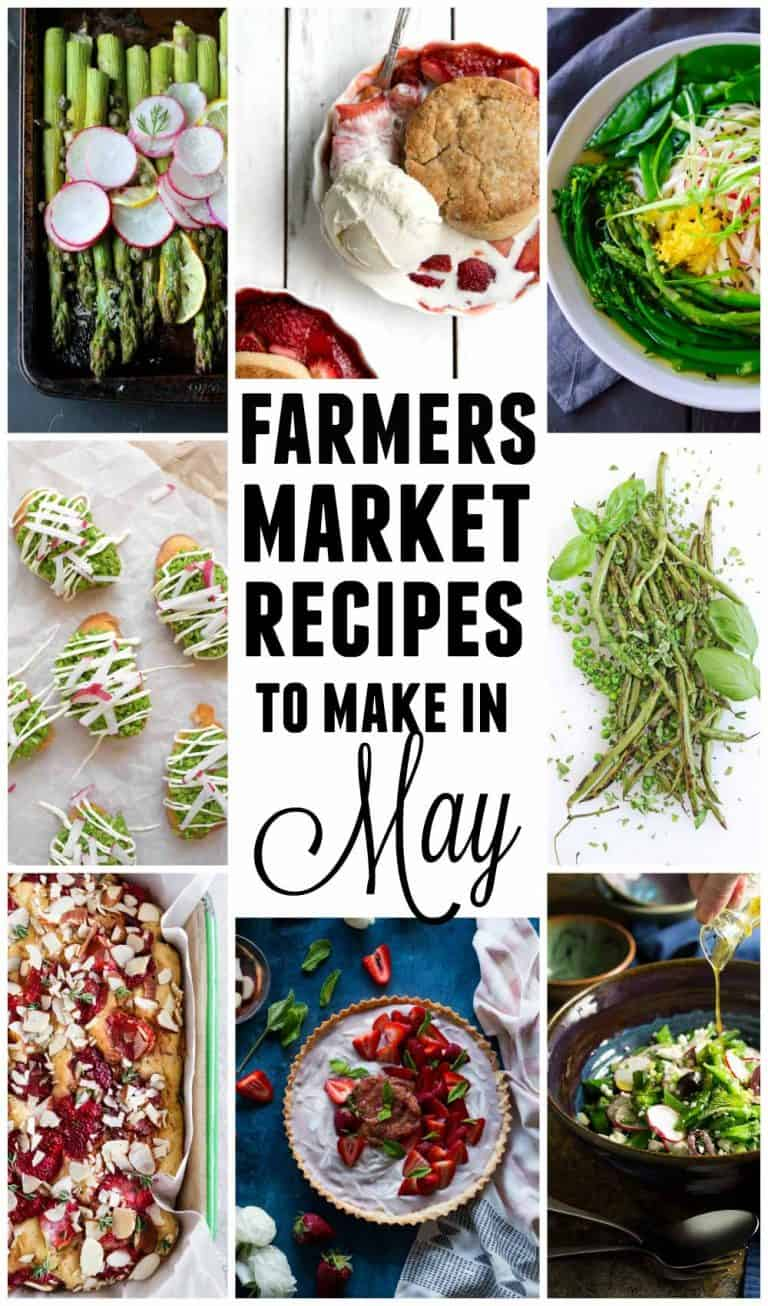 farmers market recipes for may