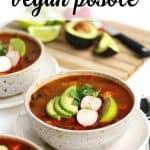 vegan posole for pinterest