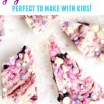 healthy unicorn yogurt bark pinterest