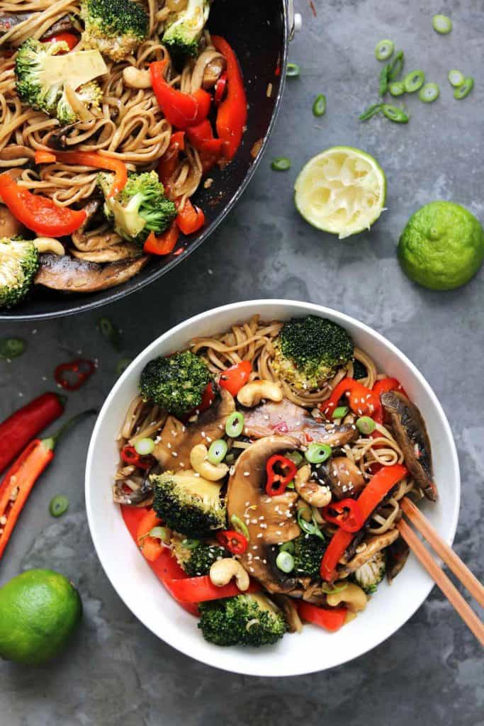vegetarian stir fry + meatless monday recipes