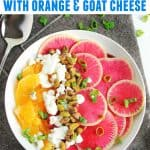 watermelon radish salad pinterest