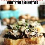 mushroom toast pinterest