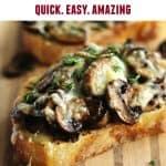 mushrooms on toast pinterest