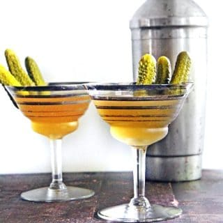 dill pickle martini recipe