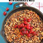 healthy baked oatmeal