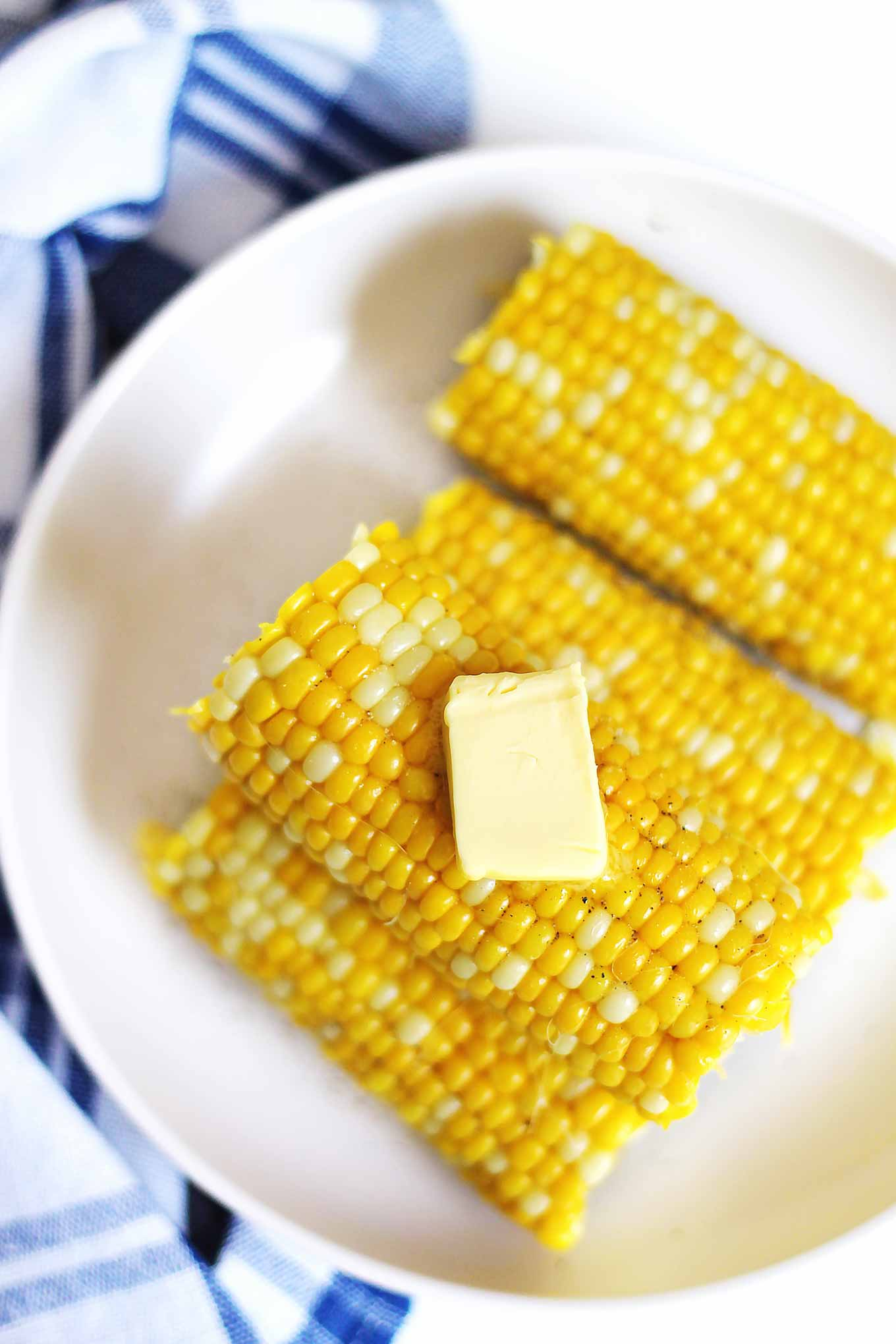 corn with butter