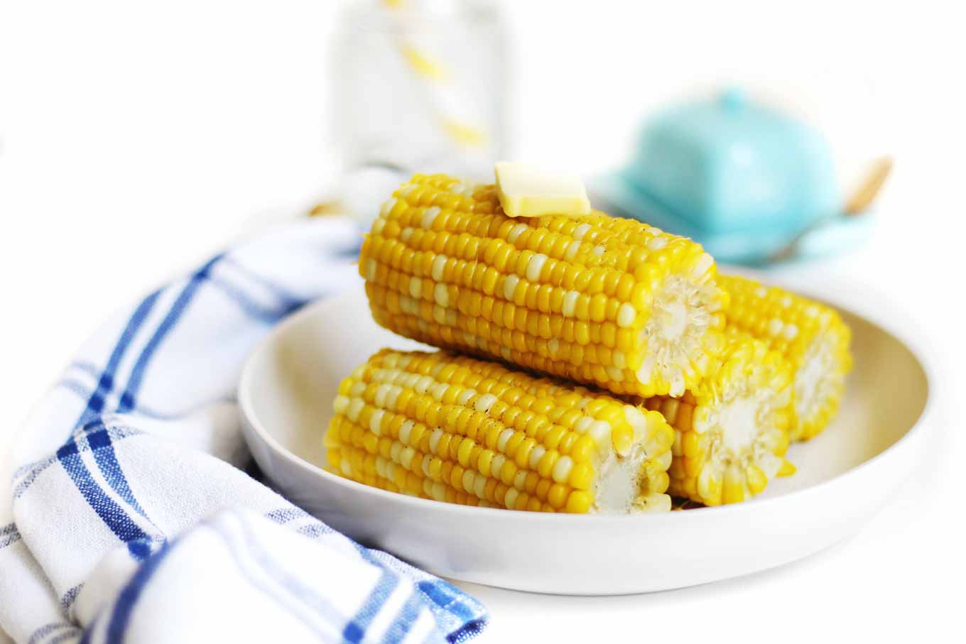 corn on the cob stack