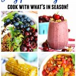 July recipes July produce guide