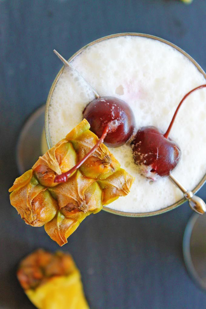 pina colada cherries