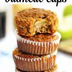 apple peanut butter oatmeal cups