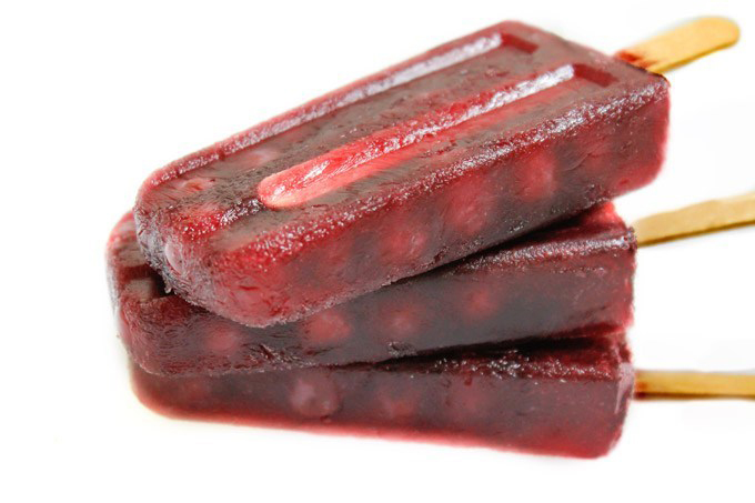 red wine popsicles