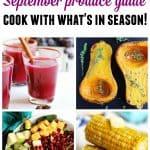 September recipes September produce guide