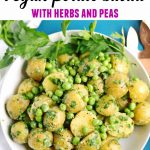 vegan potato salad with text