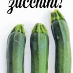 how to cook with zucchini