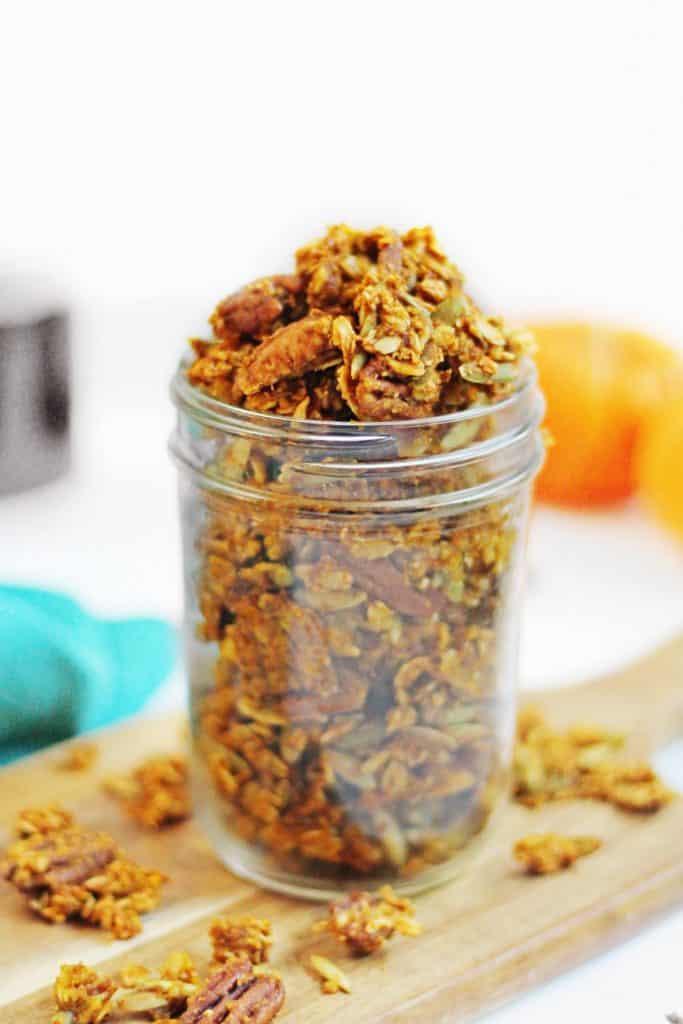 chunky pumpkin spice granola