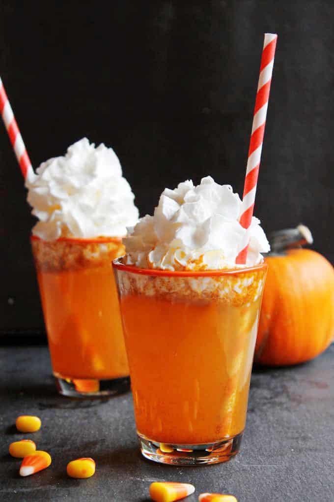 halloween drink pumpkin soda