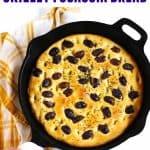 skillet focaccia bread recipe