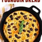 olive and rosemary focaccia bread recipe
