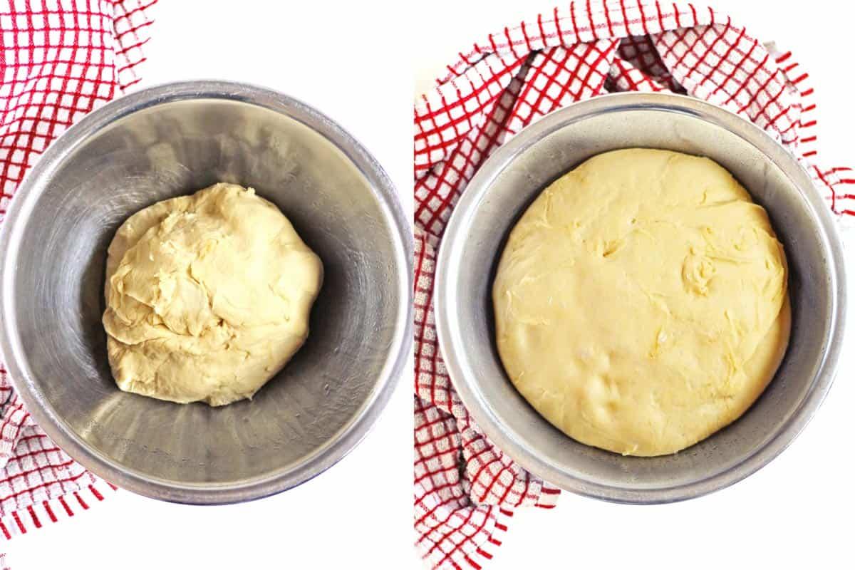 focaccia bread rise