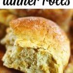 butternut squash sage dinner rolls