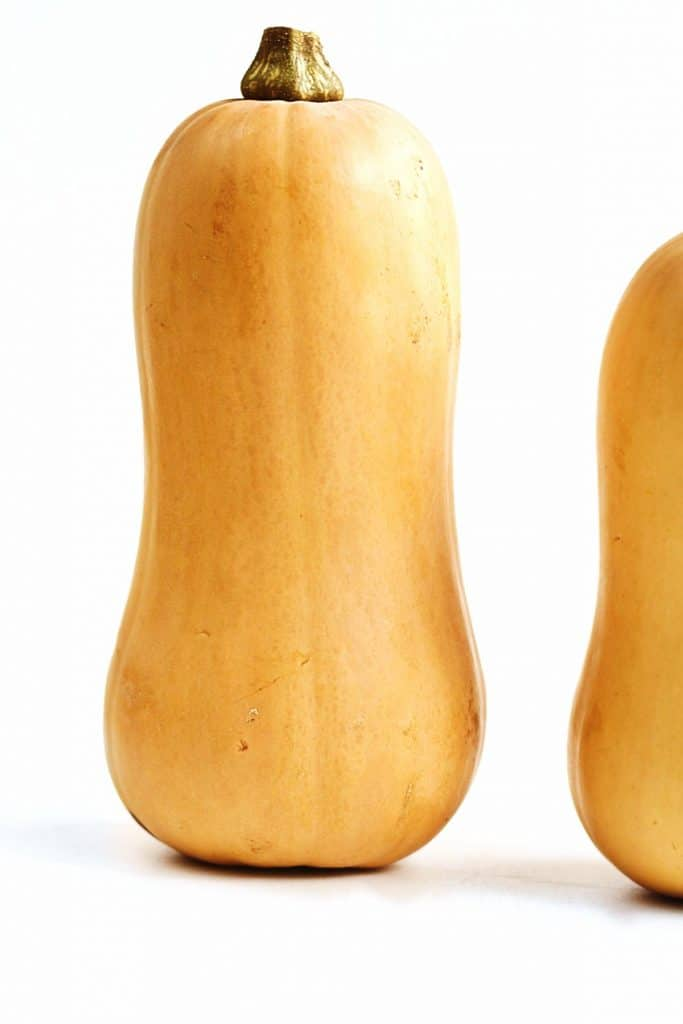 standing butternut squash