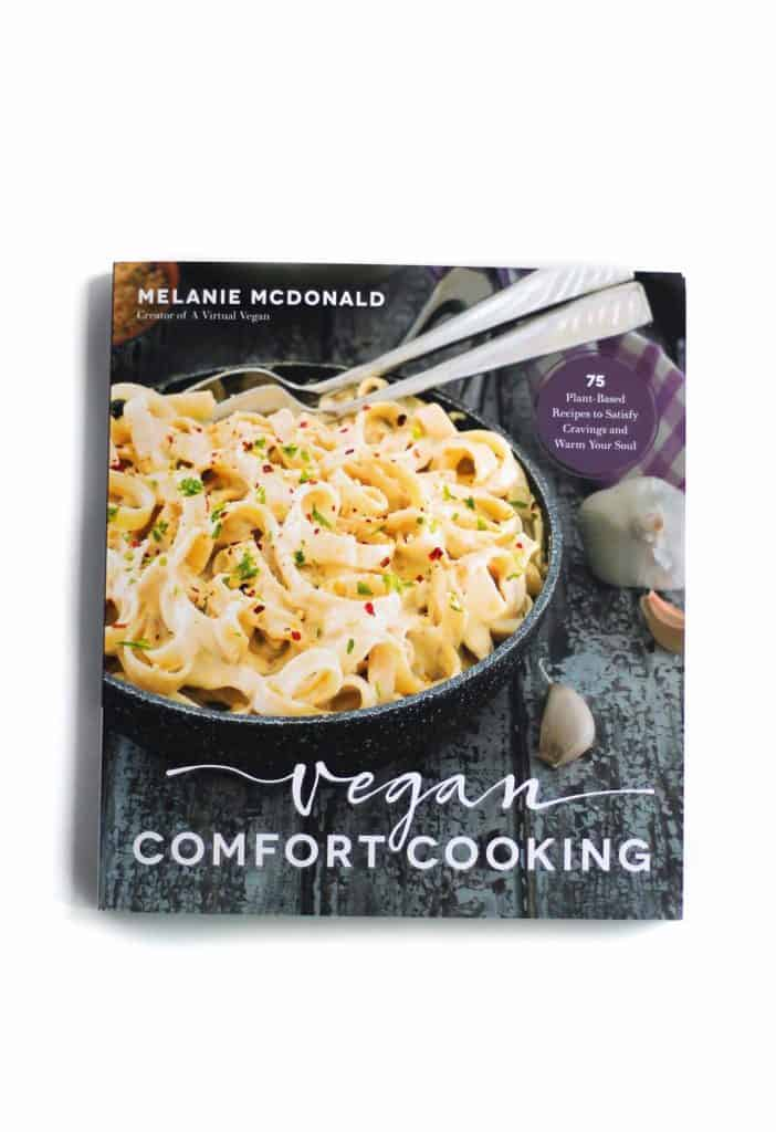Vegan comfort cooking book