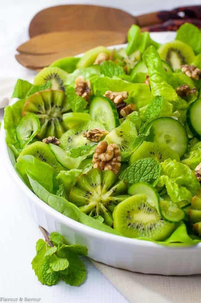 kiwi green salad