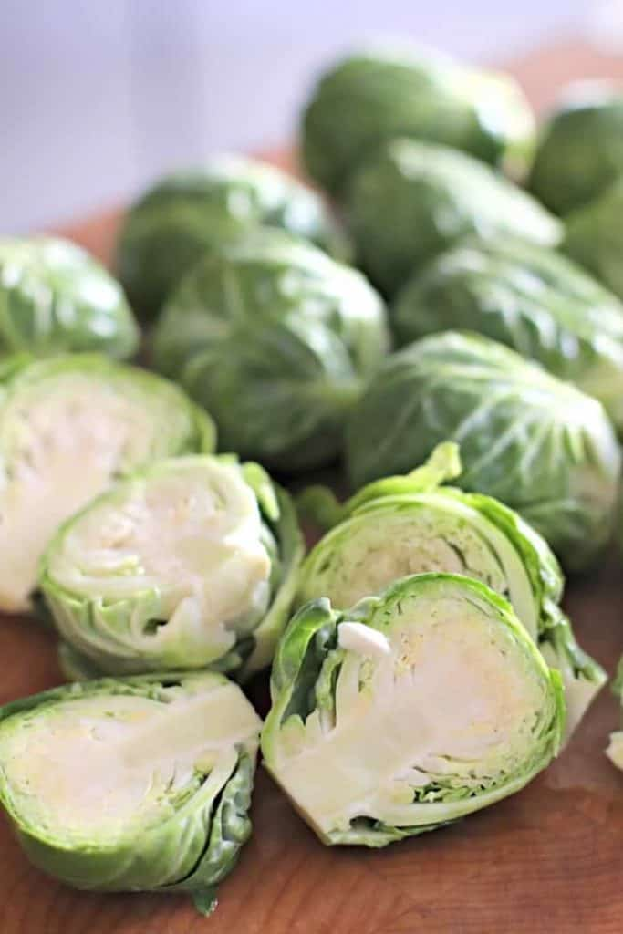 Brussels sprout halves