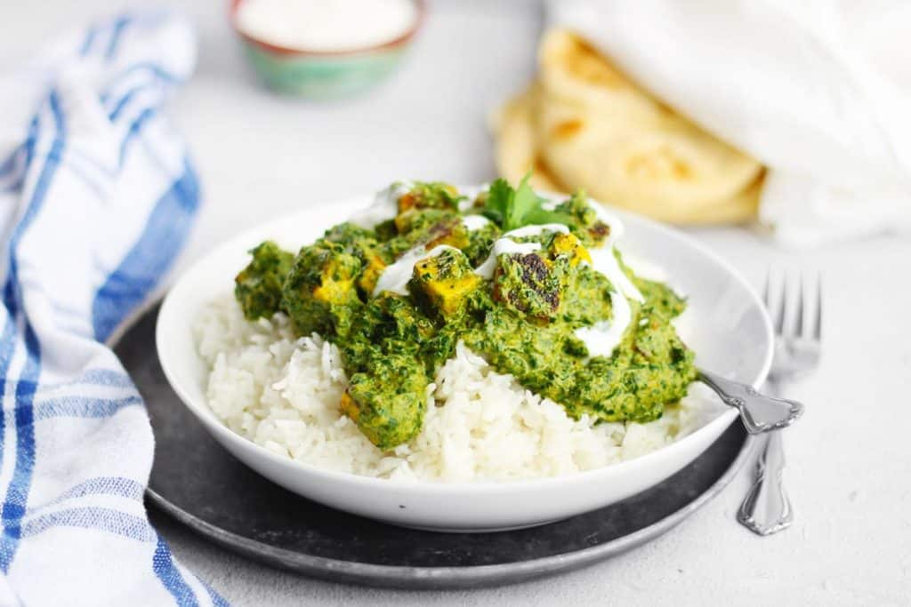 Easy Saag Paneer Recipe Greens With Indian Cheese Rhubarbarians