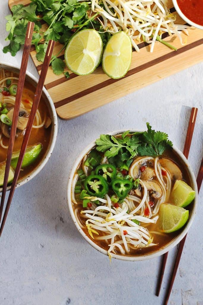 Vegan easy pho recipe