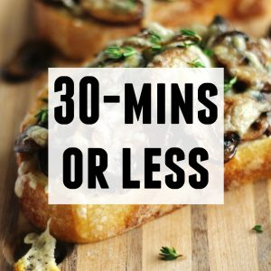 30-mins or less text and photo