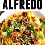 Pumpkin cauliflower alfredo pinterest pin