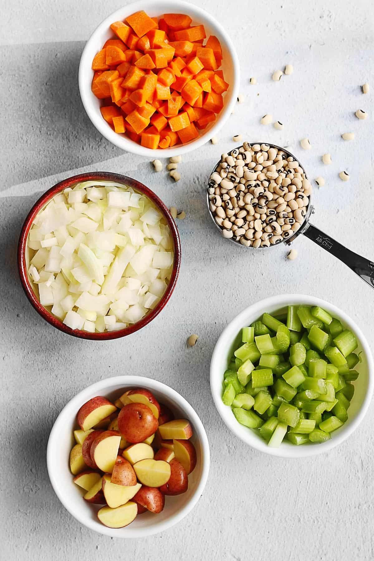 Black eyed pea soup recipe ingredients