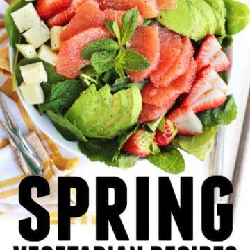 Spring vegetarian recipes to celebrate spring